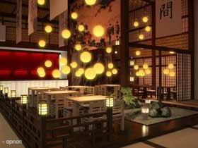 Дизайн ресторана кафе бара
